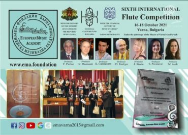 6th International flute competition